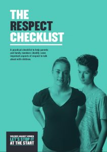 the respect checklist cover image