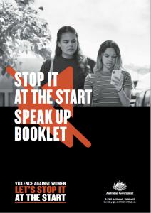 Aboriginal and Torres Strait Islander Speak Up Booklet